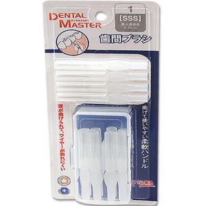 Nwe Denter master Interdental brush i type case 12p(1~5번)